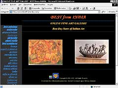 Artwork gallery from India, Indian painting, sculpture