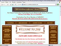 Woodworkers auction, the fine art of woodworking
